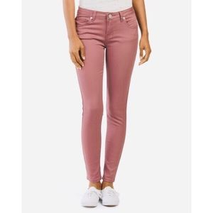 "Ashley Mason ""salmon-pink"" Skinny Pants"